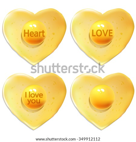 eggs heart