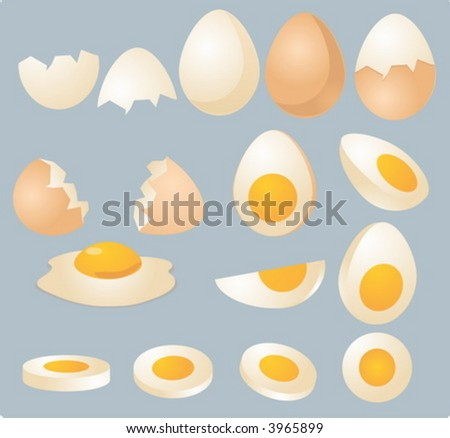 eggs in various forms and