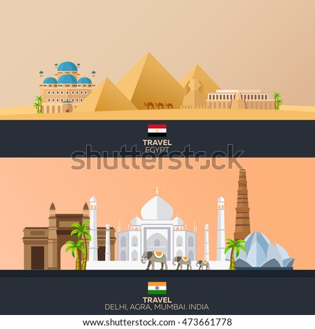 egypt and india tourism