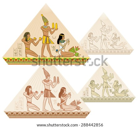 egypt painting  ancient egypt