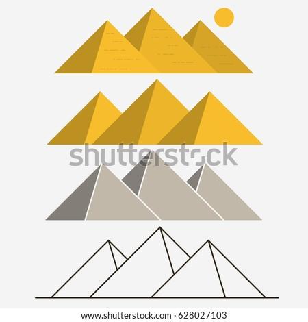 egypt pyramids  giza egyptian