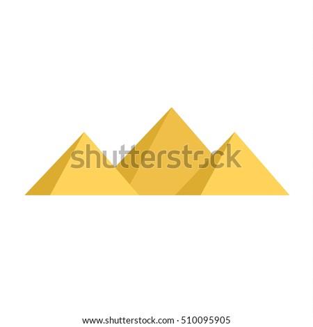 egypt pyramids vector...