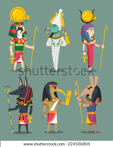 egyptian gods and egypt