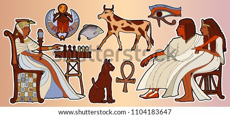 egyptian gods and pharaohs