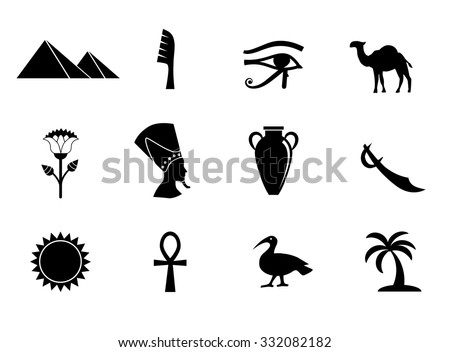 Egyptian Gods Silhouettes Download Free Vector Art Stock Graphics