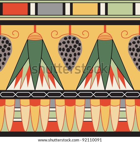 egyptian ornament  vector