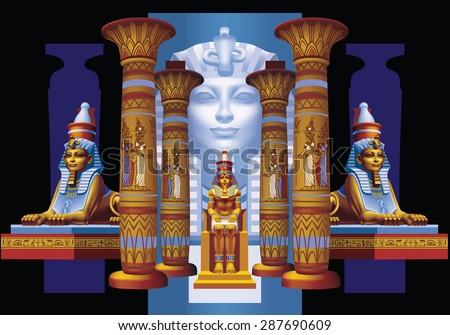 egyptian pharaohs between four