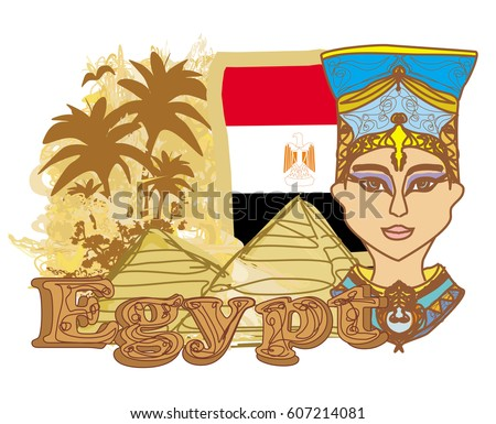 egyptian queen cleopatra on the