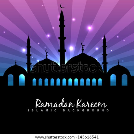 eid festival vector islamic design