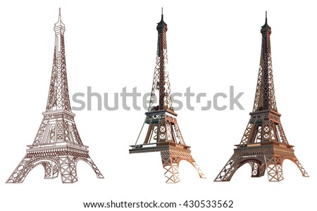 Eiffel tower icon download free vector art stock graphics images eiffel tower thecheapjerseys Gallery