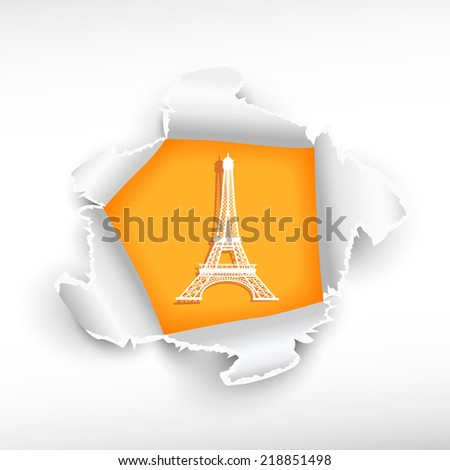 eiffel tower and breakthrough