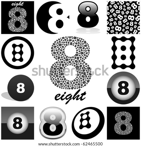 eight vector great collection