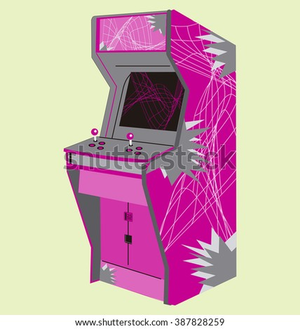 eighties video game machine