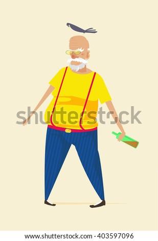 elderly men  elderly men