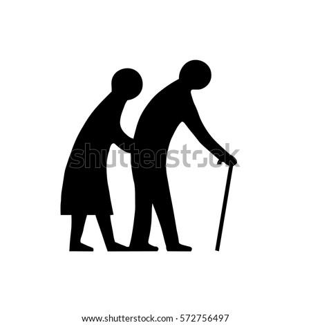 elderly or blind people