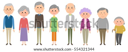 Elderly, Senior, Old Man