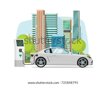 electric car charging from