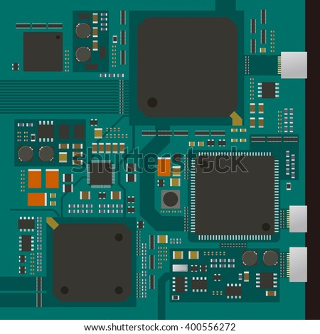 electric circuit board  various