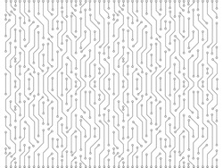 Electric circuits background. black and white electric circuits background perfect use for business and modern technology background. Plain and minimal circuits.