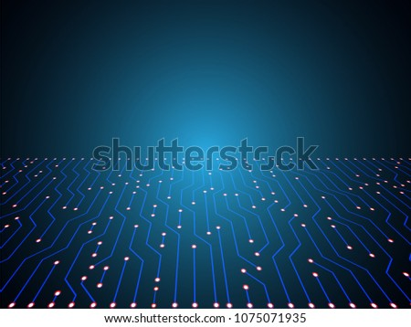 electric circuits background