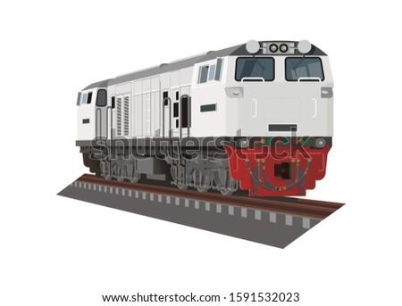 electric diesel locomotive