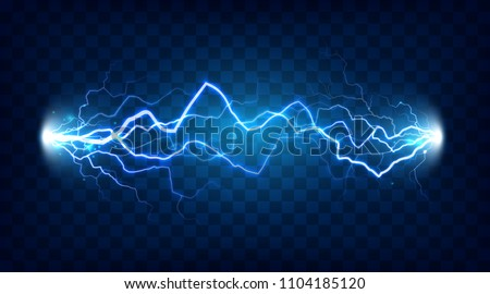 electric discharge shocked