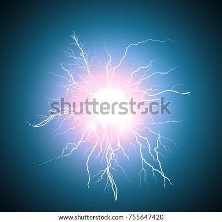 electric flash lightning