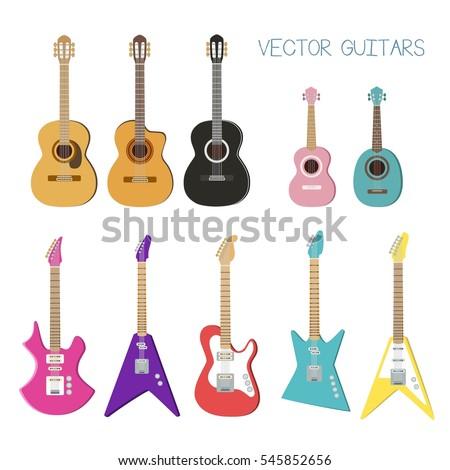 electric guitar  acoustic