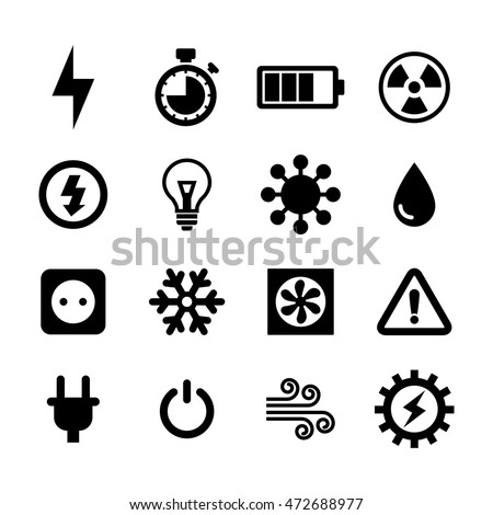 Stock Vector Electric Outlet Illustration On White Background on flat electrical wire
