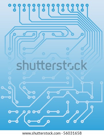 Electric scheme for design use. Vector illustration.
