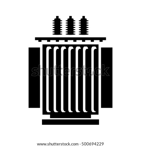 electric transformer icon