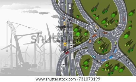 electric wind turbines in the