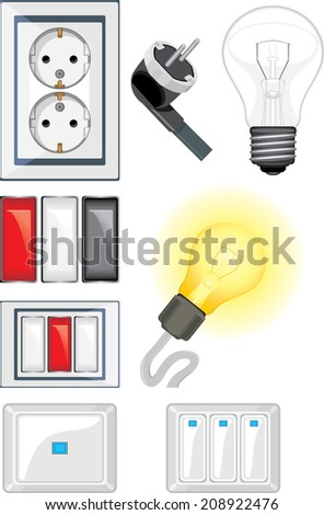 stock-vector-electrical-device-objects-v
