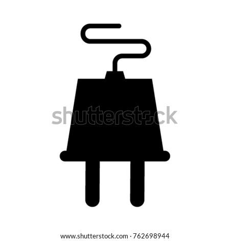 Electrical Plug icon. Vector illustration.