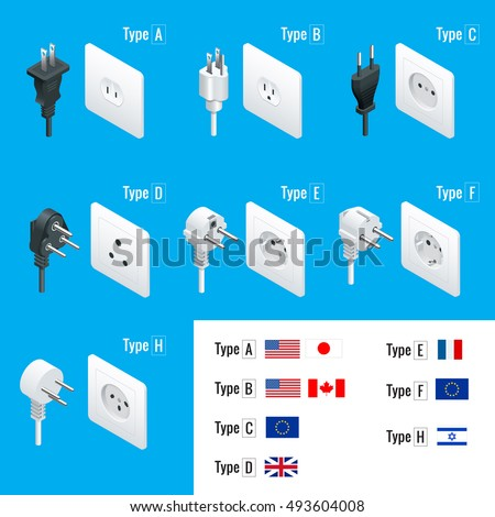electrical plug types type a