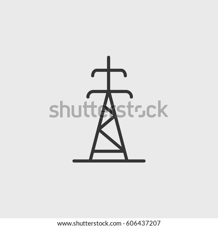 electrician pole icon