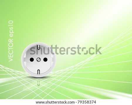 Electricity and energy background