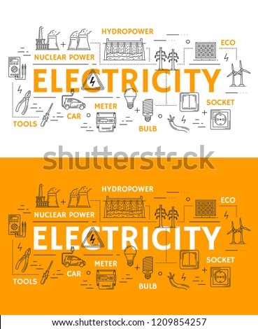 electricity and power plants