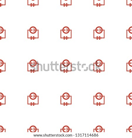 Electricity icon pattern seamless white background. Editable filled Electricity icon. Electricity icon pattern for web and mobile.