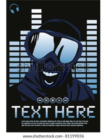 Electro DJ poster