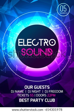 electro sound party music