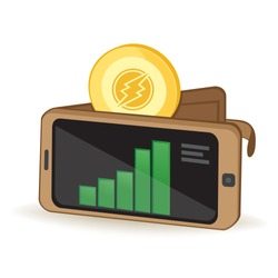 Electroneum Cryptocurrency Coin Digital Wallet