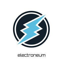 Electroneum Cryptocurrency Coin Sign