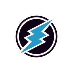 Electroneum ETN Cryptocurrency altcoin logo vector