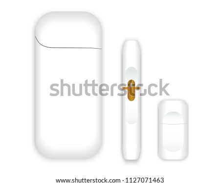 Electronic cigarette Vector