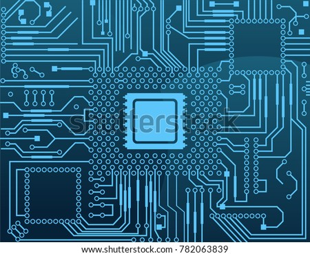 electronic circuit board with
