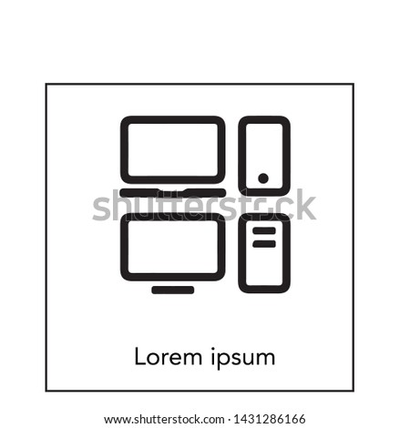 electronic, electronic vector and icon