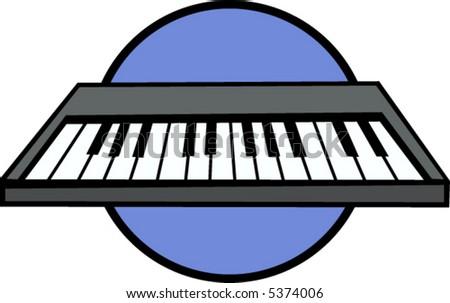 electronic musical keyboard