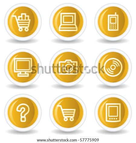 electronics web icons set 1