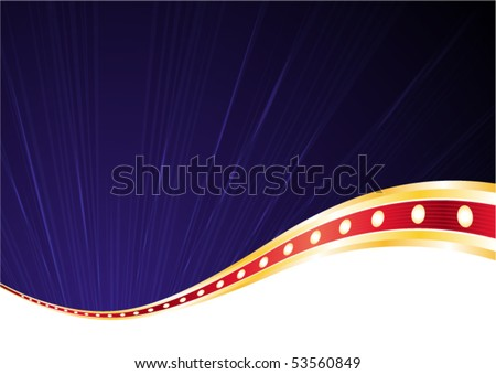 Elegance dark blue background for nightlife designs